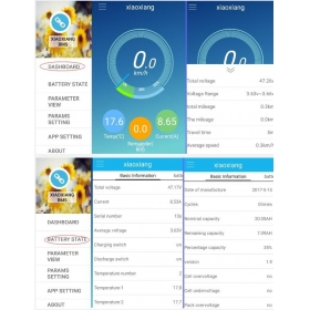 Li-ion/LiFeP04 Smart BMS 20A-60A 10-15S with Bluetooth Android APP