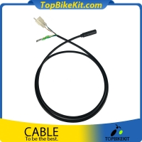 Ebike motor cable with hall connector