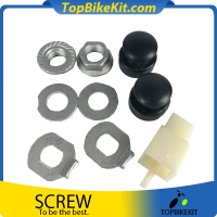 Ebike motor screw with thin gasket for AKM motor