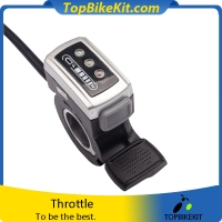 106DX Thumb throttle with ON-OFF switch and battery indicator
