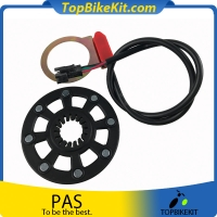 Eight poles PAS--Pulse Padel Assistant Sensor for Electric Bicycle
