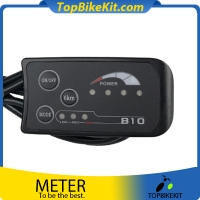 E-Bike TBK-LED810 LED Level Meter Panel for electric bike