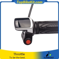 Wuxing 122DX Twist throttle with Battery indicator and switch lock