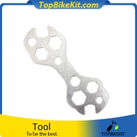 Bicycle multi-function wrench repair tools