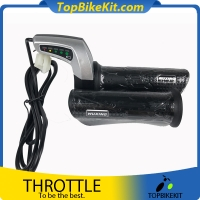 Wuxing 24V/36V/48V Twist Grip Throttle with Battery Meter
