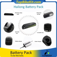 Hailong 48V10.4AH 18650 Li-ion Battery Pack with Charger