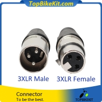3 Pins/Poles XLR Male Connector