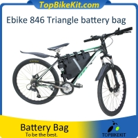 Triangle Battery Bag for ebike Li-ion and LiFeP04 battery 846