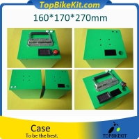 Waterproof Case Customizable Cold Rolled Sheet(SPCC)Box For 18650 Battery 160*170*270mm