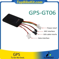 Mini GT06 Vehicle tracker Protable GPRS Car GSM/GPRS Tracker GPRS Tracking Adapter
