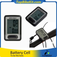 Cycling Bike Speedview VELO7 CC-VL520 Wired Stopwatch Cycling Bike Computer Speedometer Sets With 7 Functions