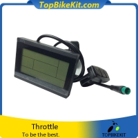 T-LCD3 24V/36V/48V LCD Meter Display with waterproof connector