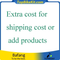 Extra cost for shipping cost or add products