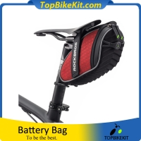Bicycle Rear Seatpost Bag 3D Shell Rainproof Saddlebag Reflective Bike Bag