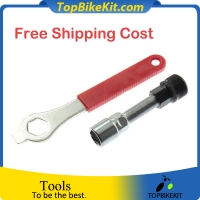 Crank Puller Remover Wrench Tool with crankset