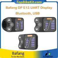 8fun Bafang DP E12.UART Display with Bluetooth (Android) and USB For BBS01 BBS02 mid motor