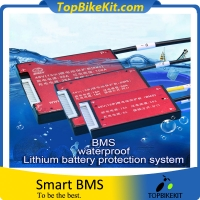13S 18A-60A Lithium Battery Waterproof BMS with Balance for Electric Bike