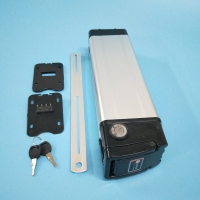Silver Fish Case for Li-ion 18650 battery cells