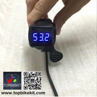 Thumb Throttle with LCD Digital Battery Voltage Display