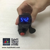 Thumb Throttle with LCD Digital Battery Voltage Display and Power Switch