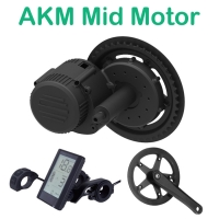 AKM Mid Motor Conversion Kit 24V/36V/48V 250W For Ebike MTB