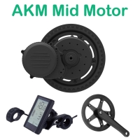 AKM Mid Motor Conversion Kit 24V/36V/48V 350W For Ebike MTB