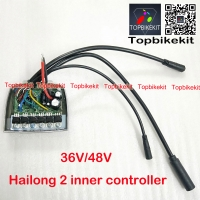 10S/13S/14S 36V/48V 6Mosfets Sine Wave Controller for Hailong2 case 40pcs cells