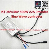 T09S 36V/48V500W Torque Simulation Sine Wave Controller with Julei Waterproof connector