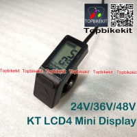 KT-LCD4 24V/36V/48V LCD Meter Display with waterproof connector