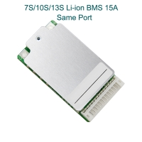 7S/10S/13S/ 15A Lithium Ion Battery BMS System Smae Port with Switch