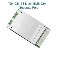 7S/10S/13S/ 22A Lithium Ion Battery BMS System Separate Port with Switch