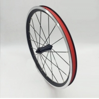 DIY BROMPTON 349 Front Wheel 16x1-3/8 Fork size 74mm