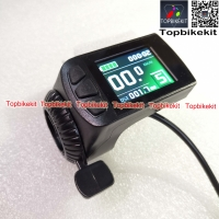 KT LCD9 Color Display Meter with Right/Left Throttle 24V/36V/48V for Electric Bicycle