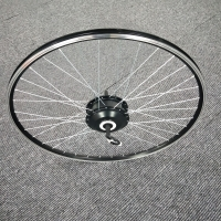 AKM-100H 36V350W EBike Rear Driving Hub Motor 36holes with 20/26inch/700CC wheel rim