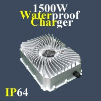 S1500 Waterproof Charger 1500Watts Charger Iron Shell Charger for LiFePo4/Li-ion/Lead Acid Battery Pack